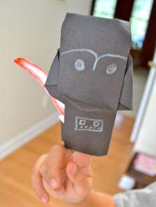Darth Paper origami