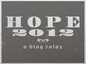 relay for hope 2012